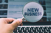 Search New Business Concept