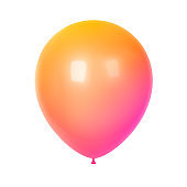 Birthday balloon for party and celebrations