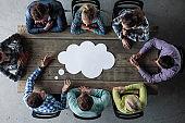 Business opinion dialog cloud