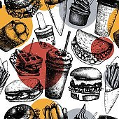 Fast food restaurant pattern