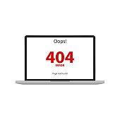 404 error. Page not found