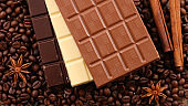 selection of chocolate bar