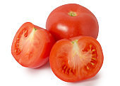 Tomatoes red isolation