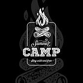 Camp summer black