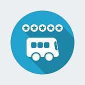 Bus rating icon