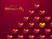 Valentines day holiday background.
