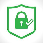 Security Shield illustration vector