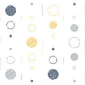Subtle grunge texture, background with circles, vintage abstract backdrop, minimalist pattern, festive decoration
