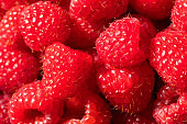 Raw Red Organic Raspberries