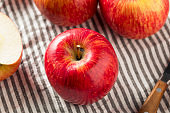 Raw Red Organic Kiku Apples