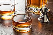 Delicious Bourbon Whiskey Neat
