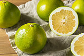 Raw Green Organic Golden Pomelo