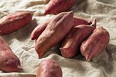 Raw Red Organic Japanese Yams