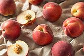 Raw Ripe Organic White Peaches