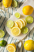 Raw Organic Lemons and LImes