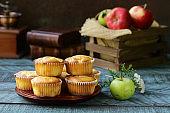 apple muffins dessert