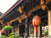 Temple details Longshan Temple in Taipei