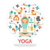 Flat Yoga Round Concept