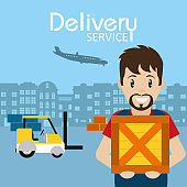 Delivery service concept