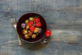 Vegan dinner bowl
