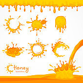 Honey blots and splash