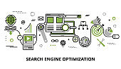 Concept of search engine optimization