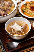 Oxtail soup Korean food