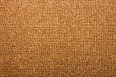 Brown industrial woven fabric texture.Brown fabric background.