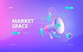 Market Space web banner