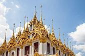 spires of Wat Ratchanadda