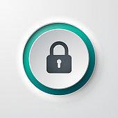 web icon push-button lock