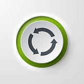 web icon push-button recycling