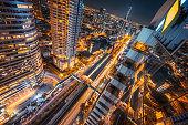 Business District of Bangkok, Sathorn. Thailand