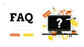 Frequently asked questions. Landing page