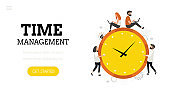 Time management.  Landing page