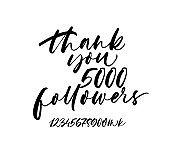 Thank you followers banner.