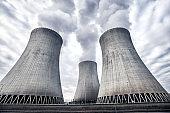 Nuclear power plant in Temelin, Czech Republic, Europe