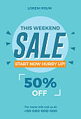 This Weekend Sale Flyer Template
