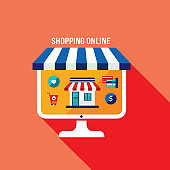 Online shopping and e-commerce concept Successful business