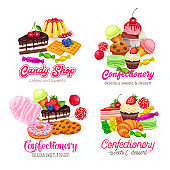 sweets banners