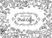 page design template coffee