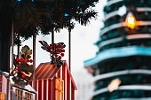 Christmas background; Christmas decorations