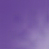 Halftone pattern with color gradient light effect