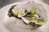 Fresh Oyster Appetizer