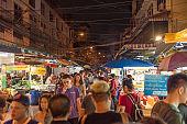 Bangkok Thailand China Town and traveller enjoy traviling