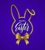 Easter greeting illustration