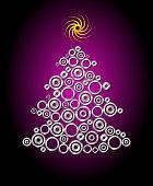 Mechanical Christmas tree with gears