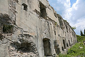 fortress of First World War by austrian soldiers called Forte So
