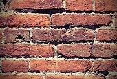 bricks of an old historic wall