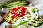 Korean cold noodle
